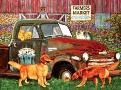 Woody Acres Nostalgic / Retro Jigsaw Puzzle