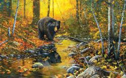 Last Days of Autumn Bears Jigsaw Puzzle