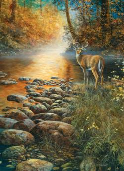 Forest Haven Deer Jigsaw Puzzle