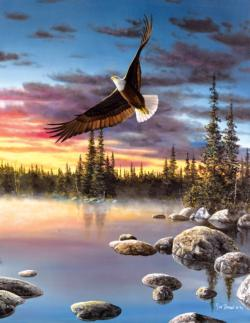 Sky Dancer Eagles Large Piece