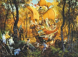 Flight of the Fable Maker Fairies Jigsaw Puzzle