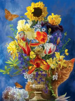 Garden of Gold Garden Jigsaw Puzzle