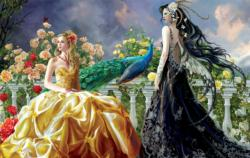 Pretty 550 Fairies Jigsaw Puzzle