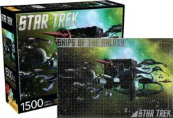 Ships of the Galaxy (Star Trek) Sci-fi Jigsaw Puzzle