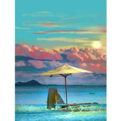 Tranquility Beach Jigsaw Puzzle