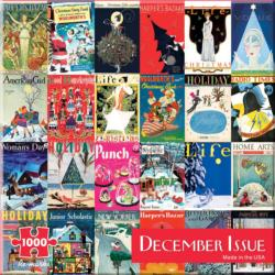 December Issue Magazines and Newspapers Jigsaw Puzzle
