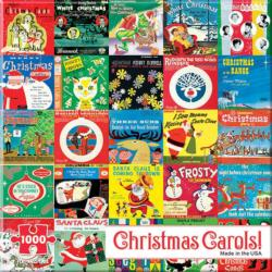 Christmas Carols Collage Jigsaw Puzzle