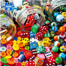 Spill Everyday Objects Jigsaw Puzzle