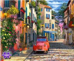 Rue Francais France Jigsaw Puzzle