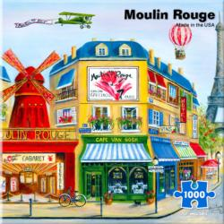 Moulin Rouge Paris Jigsaw Puzzle