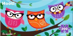 Owl Pano Birds Panoramic Puzzle