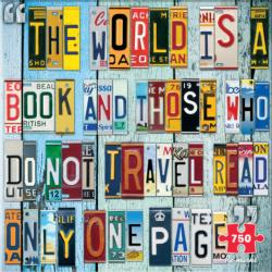 License Plates Collage Jigsaw Puzzle
