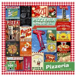 Pizzeria Collage Jigsaw Puzzle