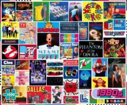 The 1980s Nostalgic / Retro Jigsaw Puzzle