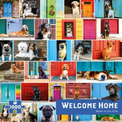 Welcome Home Collage Impossible Puzzle