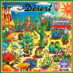 Greetings from the Desert Outdoors Jigsaw Puzzle
