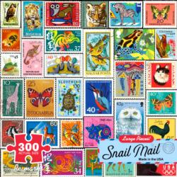Snail Mail Collage Jigsaw Puzzle