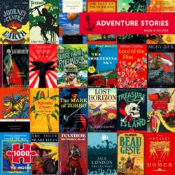 Adventure Stories Collage Jigsaw Puzzle