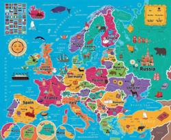Map of Europe - Scratch and Dent Europe Jigsaw Puzzle