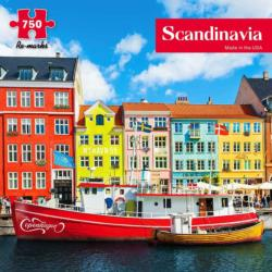 Scandinavia Europe Jigsaw Puzzle