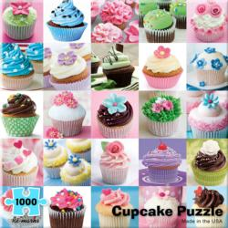 Cupcake Collage Food and Drink Jigsaw Puzzle