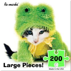 Kit Frog - Scratch and Dent Cats Children's Puzzles