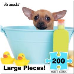 Bath Dogs Jigsaw Puzzle