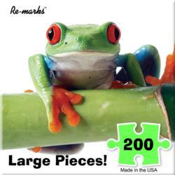 Frog Animals Large Piece