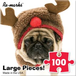 Rudy Dog Christmas Children's Puzzles