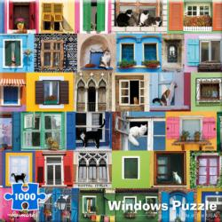 Windows Collage Jigsaw Puzzle