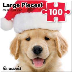Hdog Santa Christmas Children's Puzzles