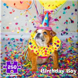 Birthday Boy Family Fun Jigsaw Puzzle
