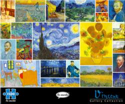 Vincent Sunflower Jigsaw Puzzle