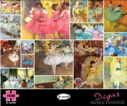 Degas Collage Jigsaw Puzzle