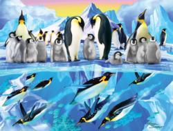 Penguin Place Marine Life Jigsaw Puzzle