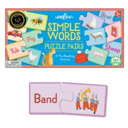 RV Simply Word Puzzle Pairs Educational Children's Puzzles