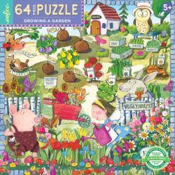 Growing A Garden Garden Children's Puzzles