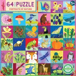 Portraits of Nature Animals Children's Puzzles