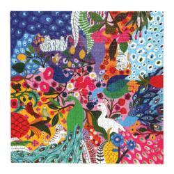 Peacock Garden Birds Jigsaw Puzzle