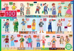 Children of the World People Children's Puzzles