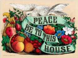 Peace Be to This House Inspirational Jigsaw Puzzle