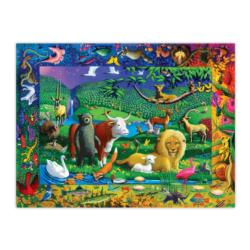 Peaceable Kingdom Animals Jigsaw Puzzle