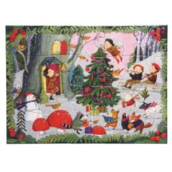 Christmas in the Woods Christmas Children's Puzzles