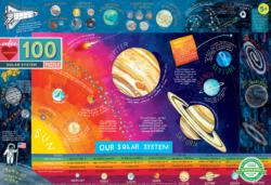 Solar System Educational Children's Puzzles