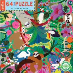 Sloths at Play Animals Children's Puzzles