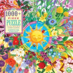 Flower Calendar Flowers Jigsaw Puzzle