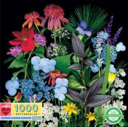 Summer Garden Sampler Flowers Jigsaw Puzzle