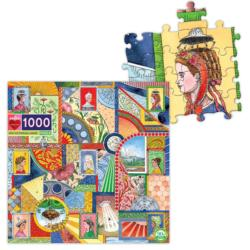 UFO Victorian Ladies Fine Art Jigsaw Puzzle