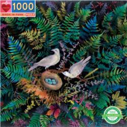 Birds & Ferns Plants Jigsaw Puzzle