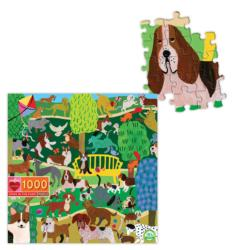 Dogs in the Park Dogs Jigsaw Puzzle